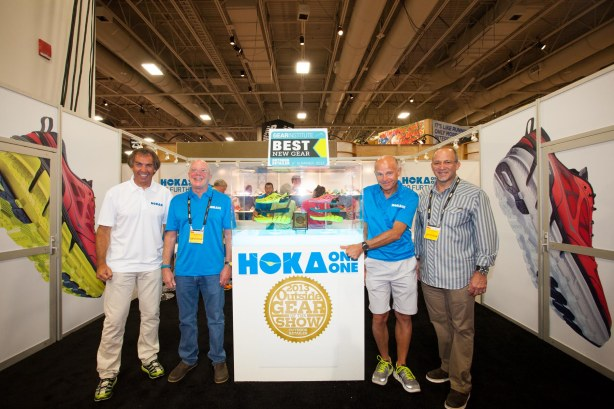 Hoka One One at Outdoor Retailer with the Outside Gear of the Show Award